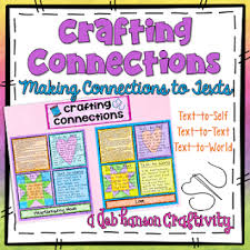 Anchor Chart Making Deep Connections Freebie Crafting
