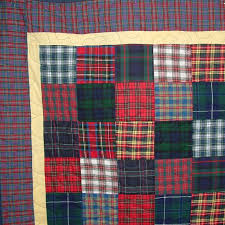 Tartan Squares Patchwork Quilts Handmade Unique Lap Quilts ... & Tartan Squares DSCF0265 (800x800).jpg ... Adamdwight.com