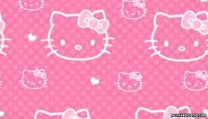Right-click here and save the Pink Hello Kitty background image.