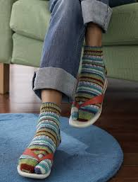 Flip Flop Socks Pattern