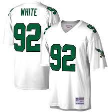 Jersey Philadelphia Eagles Ness - amp; White Mitchell Retired Reggie Replica Player