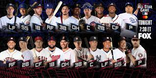 2019 MLB All-Star Game starting lineups