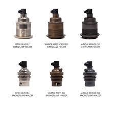 industrial copper pendant light lamp holder options