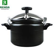 Giá bán Nồi áp suất đun ga Fujika sử dụng được trên bếp từ - Màu đen