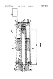 patent us5557154 linear actuator feedback position sensor patent drawing