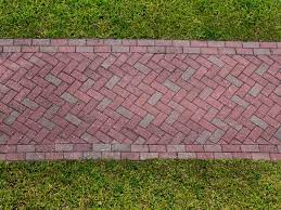 how to lay a diy brick pathway
