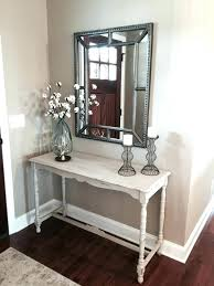 entryway table and mirror. Foyer Console Table Medium Size Of And Mirror Set Entryway