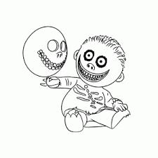 The Nightmare Before Christmas Kleurplaten Leuk Voor Kids