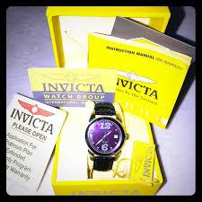 Nib 38mm Invicta Model 0769 W Diamonds Watch Nwt