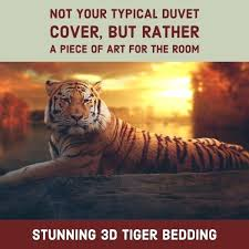 tiger bed duvet bedding set daniel sheets