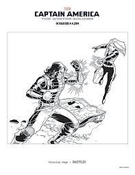 8 Captain America The Winter Soldier Coloring Sheets To Keep