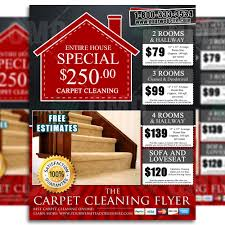 carpet cleaning flyer carpet cleaning flyer design 5 brads carpets