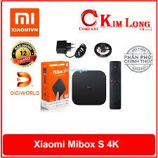 Android Tivi Box Xiaomi Mibox S 4K HDR MDZ-22-AB