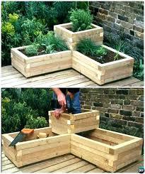 build a vegetable garden box vegetable garden wooden box top build raised garden box plans building