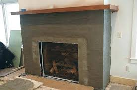 decoration manufactured stone fireplace cultured around designs with tv