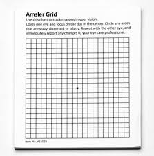 Amazon Com Hps Amsler Grid 50 Sheet Pad With Magnet Health