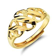 infinity ring gold. gold plated infinity ring three figure eight adjustable band as chinese saying goes: money is rolling in women bridal wedding o