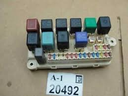 lexus ls fuse box interior dash panel board image is loading 1998 1999 2000 lexus ls400 fuse box interior