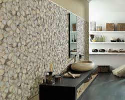 a unique wall covering adds unexpected