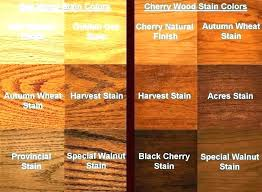 Wood Furniture Stain Color Chart Wood Furniture Colors Types Of Exclusive Color Chart For