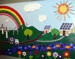 school cafeteria decorating ideas wall decoration