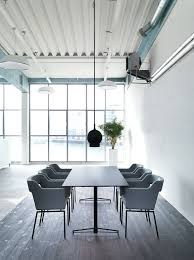 office meeting room furniture. kennedy angular and boxy grey meeting chair with matching top table base in black order now from spaceist office room furniture