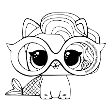 Lol Pets Colouring Pages Get Coloring Pages