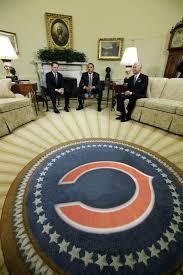 Oval Office Rug Oval Office Bears Rug President Obamas Oval Office