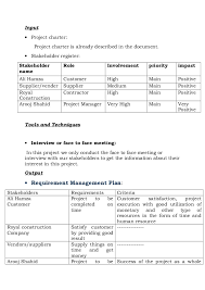 project charter construction example of a project charter for construction under