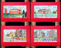 Urban Suburban Rural Communities Urban Suburban Rural Contrast Crayola Teachers