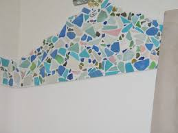 Bathroom Remodel Sea Glass Tile