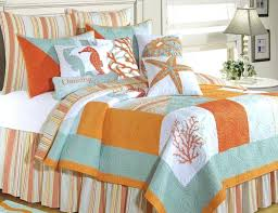 sea themed furniture. Home Furniture Beach Style Bedding Sets Quilt Sea Themed Bedroom Coastal Within Decor 6