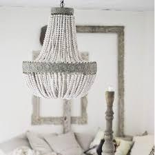 american country style retro hanging lime white wooden beads pendant lamp led lights e27 ac 110v 220v for bedroom living room in pendant lights from lights
