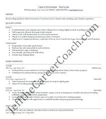 Tutor Resume Sample Magnificent Sample Tutor Resume Sample Tutor Template Sample Nursing Tutor
