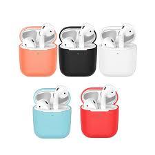 Universal <b>Silicone Earphone Headphone</b> Case <b>Protective</b> Cover ...