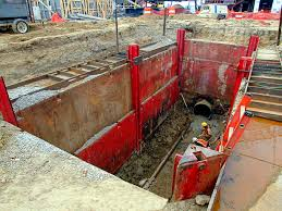 Image result for Easy Installation and Removal of Shoring for Excavations