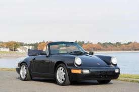 1990 Porsche 964 Carrera 4 Cabriolet - Silver Arrow Cars Ltd.