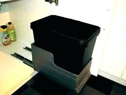 Kitchen cabinet trash can Shelf Sliding Trash Cabinet Mesmerizing Kitchen Pull Out Trash Can Trash Can Pullout Trash Cabinet Kitchen Cabinet Showdayco Sliding Trash Cabinet Mesmerizing Kitchen Pull Out Trash Can Trash