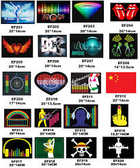 T Shirt Design Module Design T Shirt Velcor On Patches Replacement Sound Activated