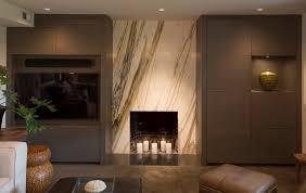 marble fireplace surrounds basement modern with art art photography arteriors