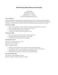Career Goals Example For Resumes Resume Objective Examples