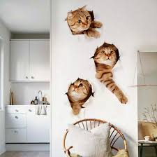 cartoon little cat wall sticker review and in dubai abu dhabi and rest of united arab emirates souq com