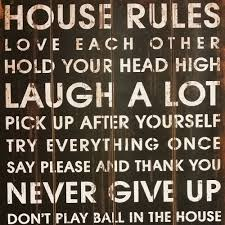 vintage wooden wall art house rules on house rules wooden wall art with vintage wooden wall art house rules shopperboard