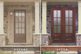 front double doorsFurniture  Mahogany Double Doors Transform Remodel Ideas Design