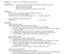 Resume Template Student Teacher Samples Targer Golden Dragon Co ...