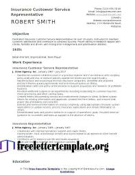 Insurance Resume Objective Health Insurance Resume Examples
