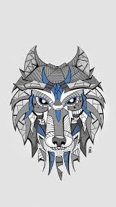 волк эскиз для татуировки фрилансер анастасия дребот Chenyole