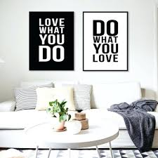 Winsome Minimalist Black White Motivational Typography Love Quotes Poster  Print Vintage Picture Canvas Painting Wall Art