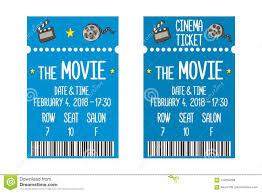 Free Printable Movie Ticket Invitation Templates Night
