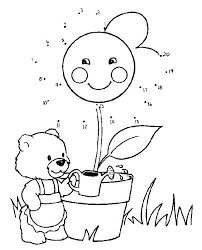 Free Printable Dot To Dot Pages Free Printable Do A Dot Coloring